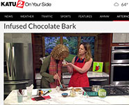 KATU Video: Infused chocolate bark