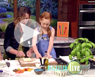 KTAU video: Monika & Lucia make tomato basil tarts
