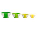 Pinch & Pour Prep Bowls (Green)