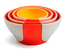 Pinch & Pour Prep Bowls (Orange)
