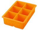 King Cube Tray (Orange  )