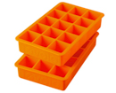 Perfect Cube Tray (2) (Orange)