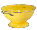 Large Colander (Yellow)