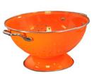 Large Colander (Orange  )